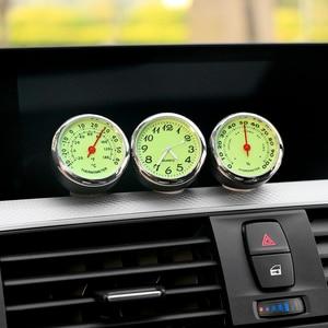 Luminous Car Clock Thermometer