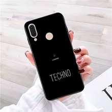 Yinuoda Techno Music Soft Silicone TPU Phone Cover Phone Case For Redmi K20 Note 5 7 7a 6 8 Pro note 8T 9 Xiaomi Mi 8 9 SE