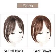 Salonchat, Remy, 3D челка, человеческие волосы, натуральная шпилька в челке, передняя сторона челки, бахрома, волосы для женщин, заколки для наращивания волос
