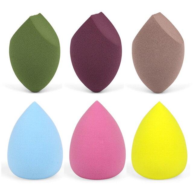 1 stücke Make Up Schwamm Professionelle Kosmetische Puff Flüssige Foundation Concealer Creme Gesicht Bilden Weichen Schwamm Pulver Puff