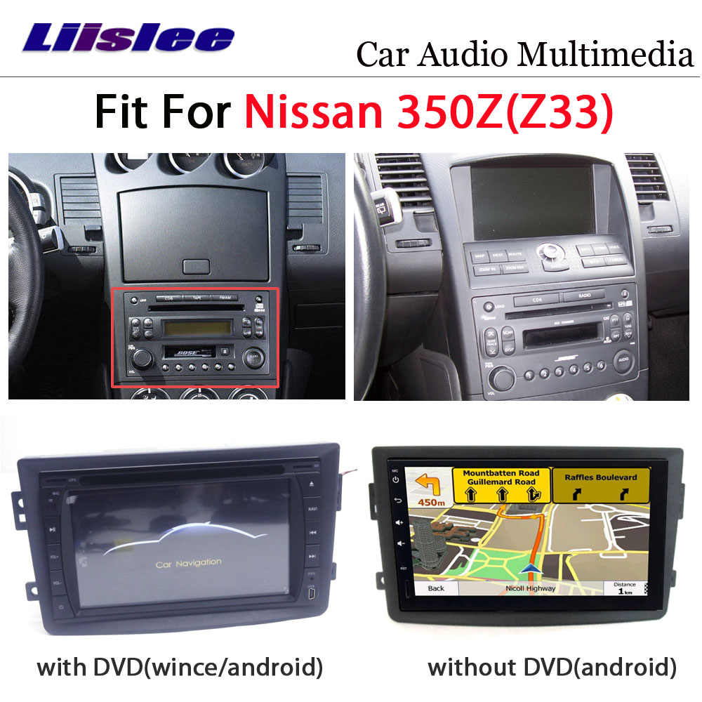 Auto DVD-Multimedia-Player Für Nissan 350Z Z33 2007 ~ 2009 Radio Android Stereo GPS Karte Navigation System Audio Installation set