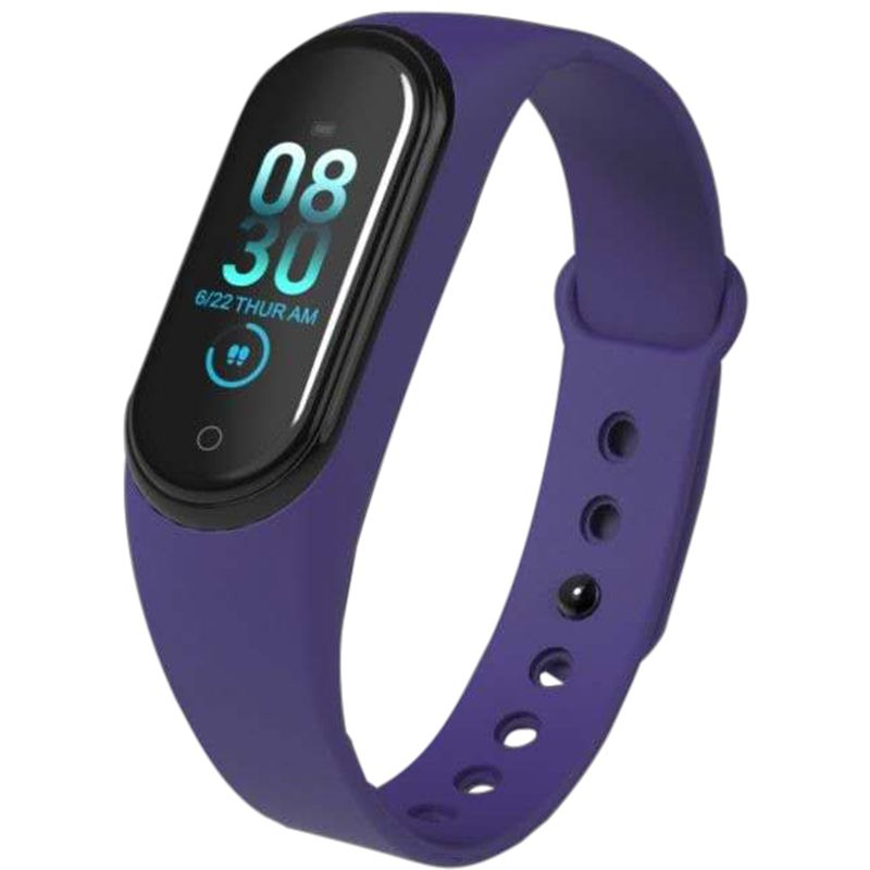 M4 Blood Pressure Watch Sports Outdoor Wireless Heart Rate Monitor Pedometer Running Room Fitness Tracker Equipment