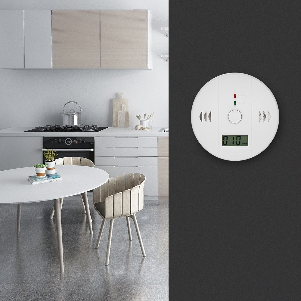 Image 4 - Carbon Monoxide Detector Independent CO Gas Sensor LCD Display 85dB Warning Alarm-in Carbon Monoxide Detectors from Security & Protection