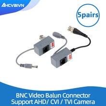 10 個cctvカメラアクセサリーオーディオビデオバラントランシーバbnc utp RJ45 オーディオおよび電力CAT5/5E/6 ケーブル