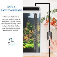 Portée de chauffage Intelligent | Écran Digital, Thermostat automatique, Aquarium, réservoir de poissons, tiges de chauffage, Aquarium Submersible