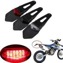 Pour KTM 530 525 500 450 400 300 250 200 125 exc 400XC-W universel moto feu arrière LED et arrière garde-boue Stop Enduro feu arrière
