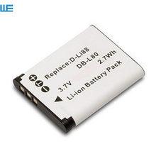 Bateria da câmera D-LI88 dli88 dbl80, para pentax opo p70 p80 ws80 h80 h90 w90 caixa preta-18 40c box18.