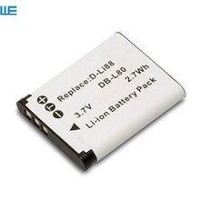 D LI88 DLI88 DBL80 カメラバッテリーペンタックスオプティオ P70 P80 WS80 H80 H90 W90 ブラックボックス 18 40C Box18.