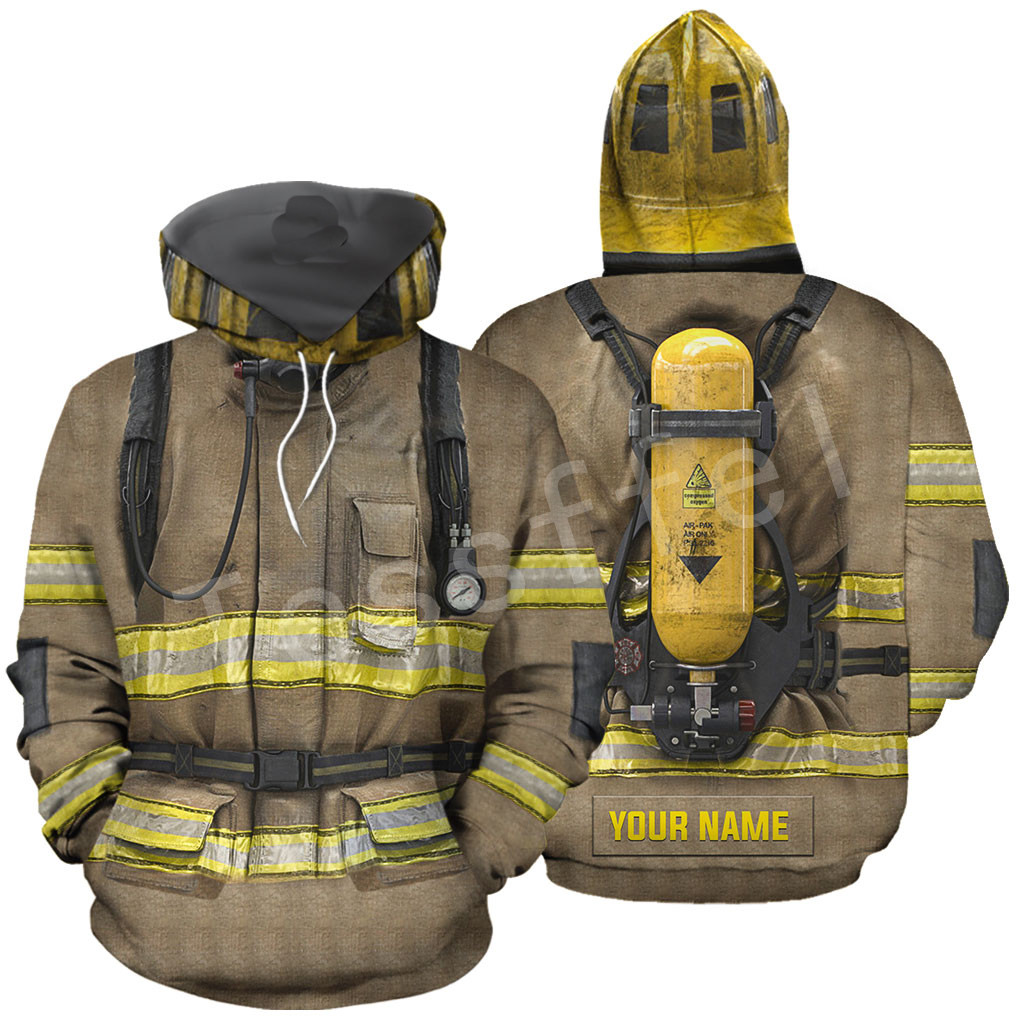 Tessffel Firefighter Firemen Hero Tracksuit 3D Printed Hoodie/Sweatshirt/Jacket/shirts Men Women HIPHOP Colorful Casual Style-4