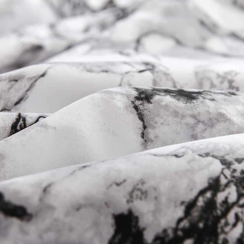غطاء واقي للملاءة لينة السرير شرشف مع شريط مرن الرخامي نفاذية الهواء المفرش الغبار مكافحة العث