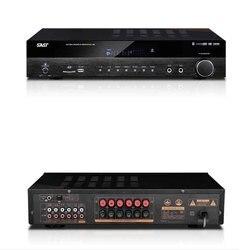 KYYSLB SU-190 AV 650W inicio Audio 5,1 profesional de alta potencia amplificador Bluetooth Home Theater fibra Coaxial HiFi amplificador