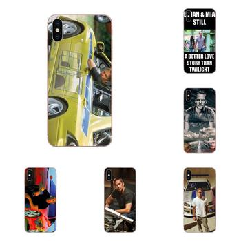 For Huawei P7 P8 P9 P10 P20 P30 Lite Mini Plus Pro 2017 2018 2019 TPU Phone Skin Paul Walker Fast And Furious image