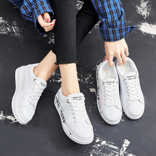Liren 2019 Summer New Casual Women Vulcanize Shoes Comfortable Breathable Lace-up Low Heels Round Toe Sport