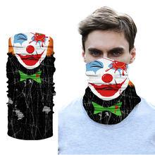 Рекламная модная бесшовная Бандана с 3d лицом Джокера воротник