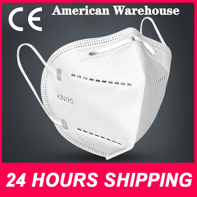 In stock Fast delivery  KN95 dustproof and anti-fog breathable mask N95 mask 95% filtering function, such as KF94 FFP2