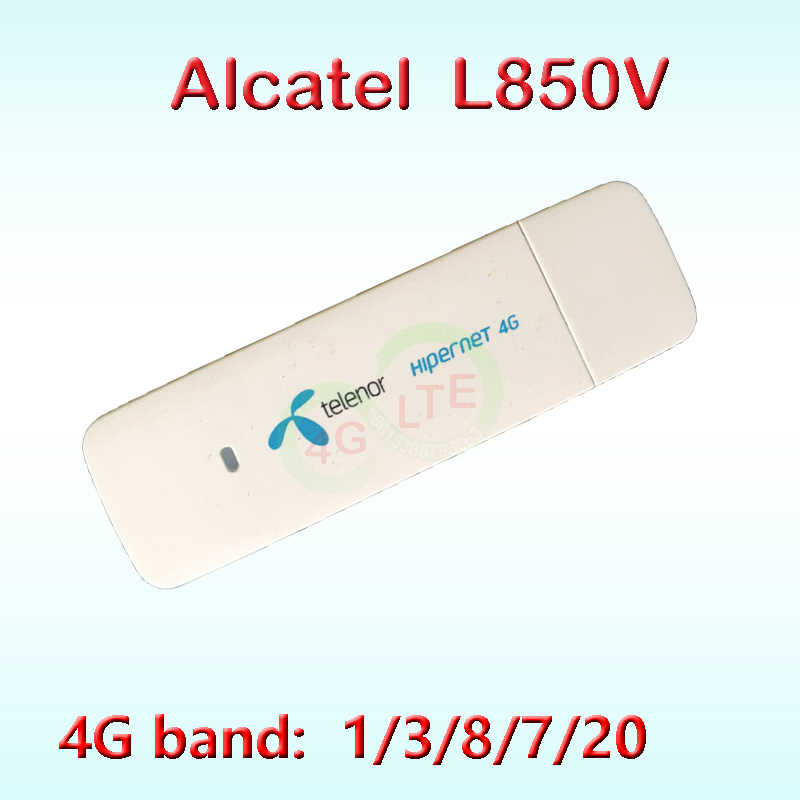 Ontgrendeld Alcatel One Touch L850V Stick 4G Modem Router Sim Card Slot L850 Usb Stick Usb Dongle 4G