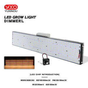 Samsung LM301B LM301H Dimmable LED Grow Light With Meanwell Driver 240W 480W 720W 3000K/3500K 660NM UV IR For Plants Veg Bloom