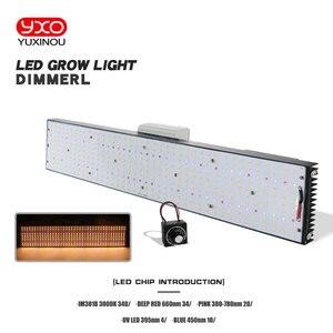 Image 2 - Samsung LM301B LM301H kısılabilir LED büyümek ışık büyümek Meanwell sürücü 240W 480W 720W 3000K/3500K 660NM UV IR bitkiler Veg Bloom