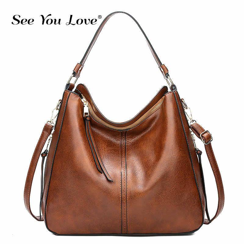 2018 винтажные коричневые женские кожаные сумки, роскошные дизайнерские сумки через плечо, высококачественные брендовые сумки через плечо для женщин, bolso mujer