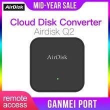 """Airdisk Q2 мобильный сетевой жесткий диск USB3.0 2,"""" Домашняя умная сеть Облачное хранилище многоместный обмен мобильным жестким диском"""