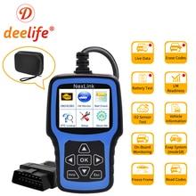 Deelife OBD2 Auto Diagnose Scanner Obd 2 Scan Tool ODB2 Diagnose Code Reader Obdii Professionele Automotive Scanner Voor Auto