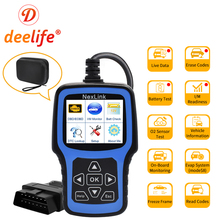 Deelife OBD2 Diagnostic Tool Car OBD 2 Automotive Scanner Auto Diagnosis Professional Code Reader for ODB II OBDII ODB2 EOBD