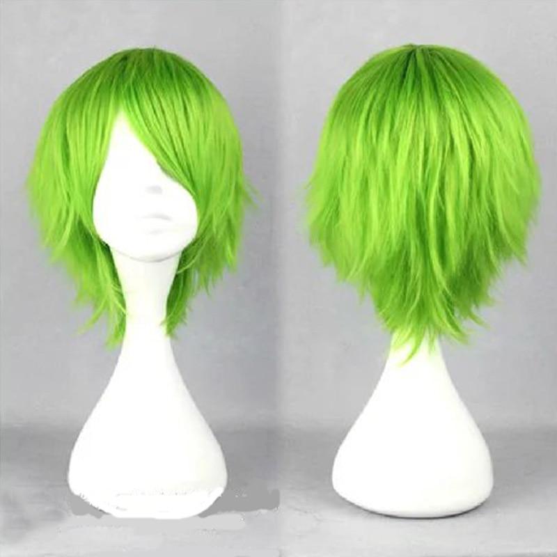 HAIRJOY Synthetic Hair Loveless  KAIDOU KIO Light Green Cosplay Wig 2