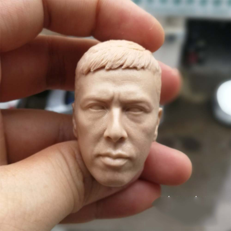 1/6 Scale Yip Man Donnie Yen Unpainted Head for 12''Action Figures Bodies image