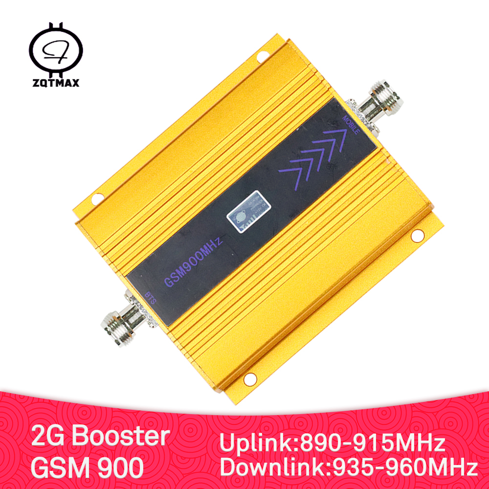 ZQTMAX Gsm Mobile Signal Booster 900 MHz 2g Call And Network Cellular Amplifier