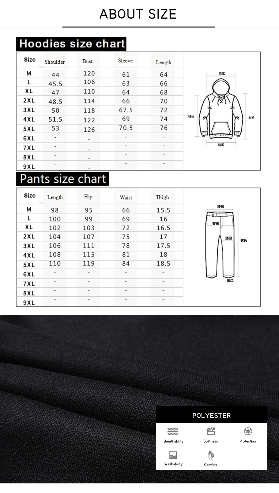 Solid Tracksuits Warm Sporting Jackets 1 9