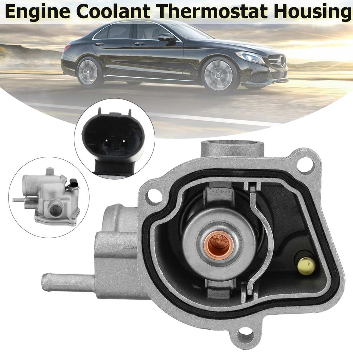 3.1 TD 4.0 4.7 V8 THERMOSTAT WITH HOUSING FOR JEEP GRAND CHEROKEE MK2 2.7 CRD