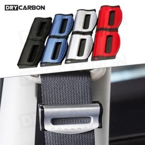2PCS/Set Universal Car Seat Belts Clips Safety Adjustable Auto Stopper Buckle Plastic Clip 4 Colors Interior Car Accessories