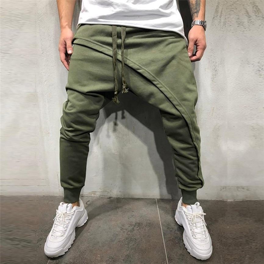 Autumn Men Pants Hip Hop Harem Joggers Pants 2019 New Male Trousers Mens Joggers Solid Multi-pocket Pants Sweatpants M-3XL