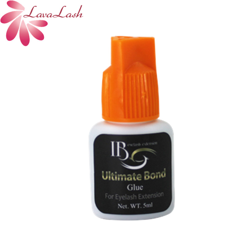 Free Shipping I-beauty Ibeauty 1 Bottle IB Ultimate Bond Glue Individual Eyelash Extensions Glue Orange Cap 5ml/bottle