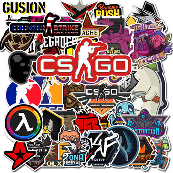 10/30/50PCS/Pack CS GO Anime Game Stickers Skateboard Laptop Guitar Luggage Funny Cool Graffiti Retro Sticker Kids Toys