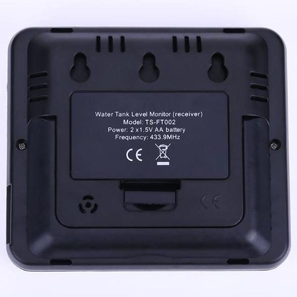 Compteur d'eau de débit de niveau de liquide de réservoir ultrasonique sans fil avec la température transmetteur de réservoir d'eau vis de montage outil de mesure - 6