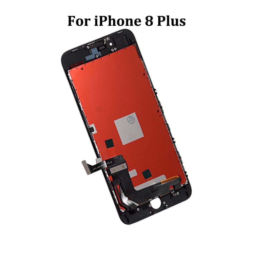 Класса AAA++ЖК-дисплей для iPhone 6 6С 7 8 Plus дисплей с сенсорный экран замена для iPhone 5 5С 5SE нет мертвых пикселей+подарок