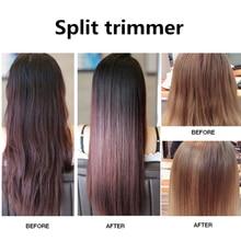 Trimmer Hair-Clipper Straightener Split Cutting Usb-Charging