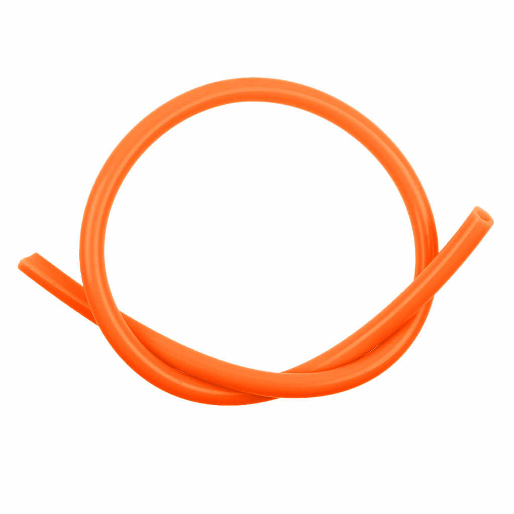 Orange 4mm Silicone Vacuum Tube Hose Silicon Tubing 1M for Car Cooling System Automobiles  Accessories P10