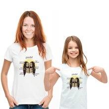 Семейная одежда gemini созвездия модная футболка с коротким