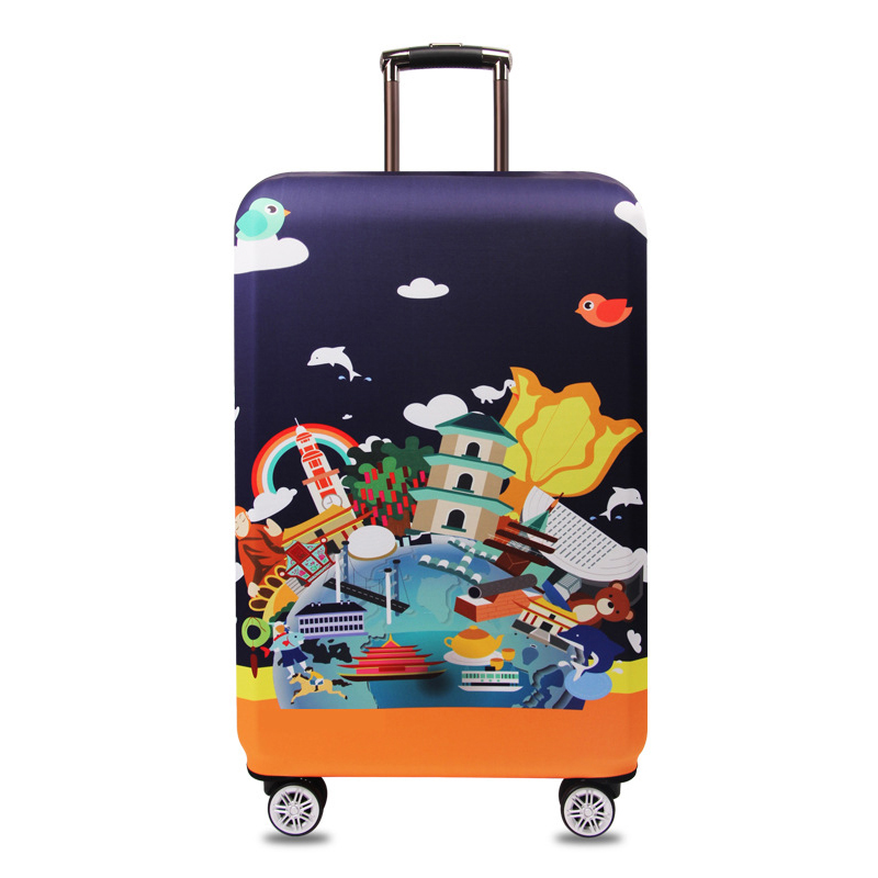 Elastic Thicken Bag Luggage Cover Protector For 18