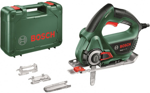 Лобзик bosch easycut 50 +1пил. 500вт 7800ходов/мин от электросети (кейс в комплекте)