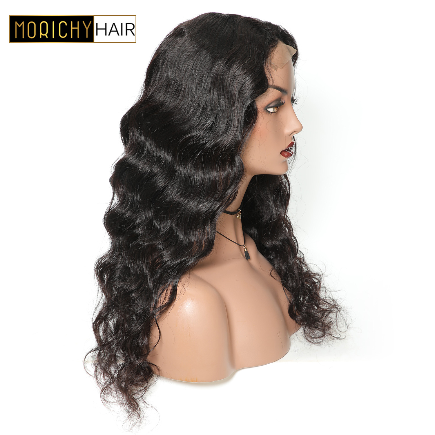 Body Wave Lace Closure Human Hair Wigs 4x4 Closure Wig Brazilian Non Remy Wig Pre Plucked With Baby Hair 150 Desnity