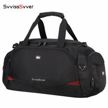 High Quality Male Waterproof Travel Bag Large Capacity Luggage Bags for Men Multifunction Shoulder HandBag with Shoe Bag Mochila