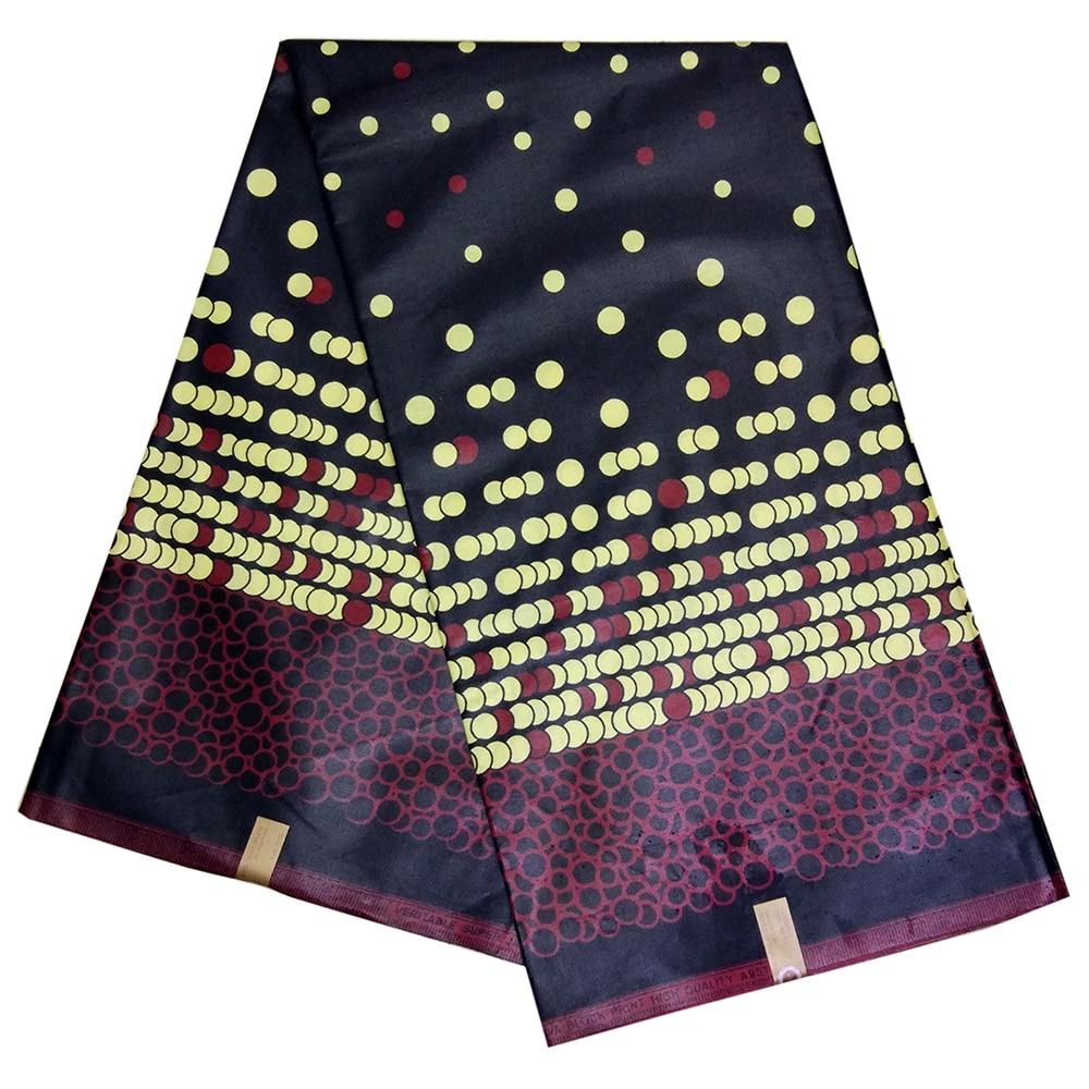 Fashion African Fabric 100% Cotton High Quality Nigeria Ankara Wax African Print Fabric