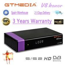 1080p decodificador gtmedia v8 honra receptor de satélite mesmo que gtmedia v8 nova receptor completo hd h.265 gtmedia v9 super gtmedia v8x