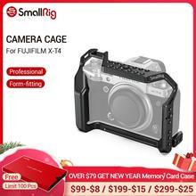Smallrig X T4 カメラケージ富士フイルムX T4 アルミ合金ケージとコールドシューマウント/natoレールカメラビデオアクセサリー 2808