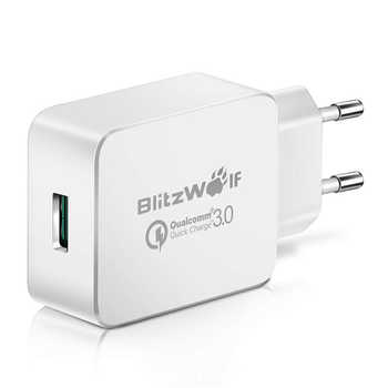 BlitzWolf 18W Quick Fast Charge 3 Universal Phone Charger Micro USB Cable Type C Cell Mobile Phone Accessories Charging QC 3.0