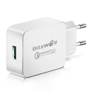 Image 2 - BlitzWolf 18W Quick Fast Charge 3 Universele USB Adapter Telefoonlader Micro USB kabel Type C Mobiele telefoonaccessoires Opladen QC 3.0 voor iPhone Voor Huawei Voor Xiaomi