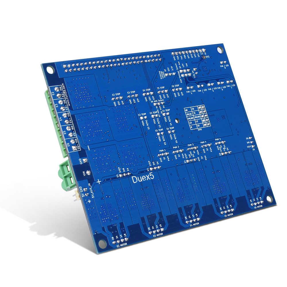 โคลนDuex5 Expansion Boardคอนโทรลเลอร์TMC2660 Stepper Motor Driver Fit Thermocouple PT100 VS Duet 2 Wifi 3Dชิ้นส่วนเครื่องพิมพ์